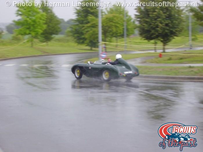 Grand Prix Revival Nivelles-Baulers sport scar in the rain