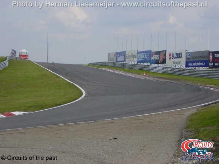 Old Zandvoort Circuit - exit Hugenholtz Corner