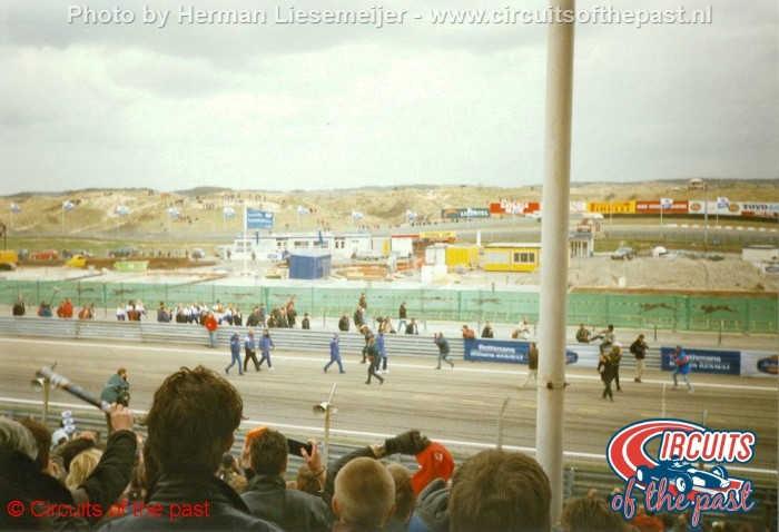 Zandvoort circuit 1997 - Demolished pits
