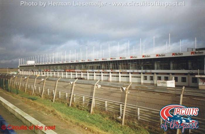 Zandvoort circuit 1998 - New pits