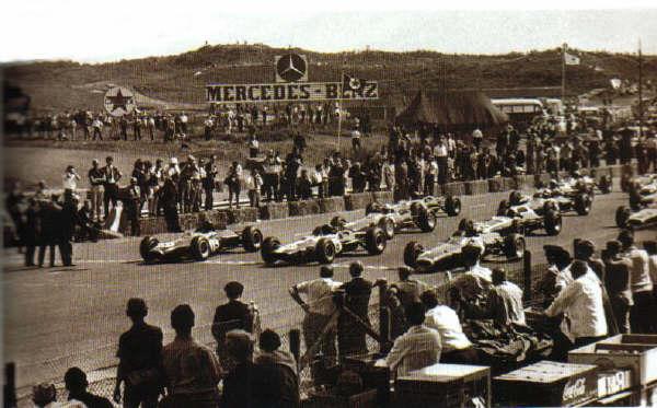 Zandvoort circuit 1964 - Start Dutch Grand Prix