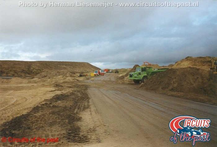 Zandvoort circuit 1998 - Construction new part