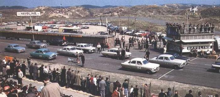 Zandvoort circuit 1958 - Tulip Rally