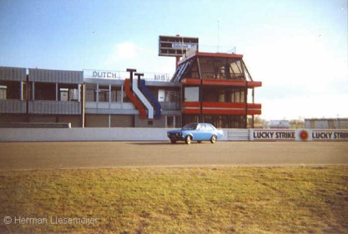 TT Circuit Assen 1990 short after the renovation works
