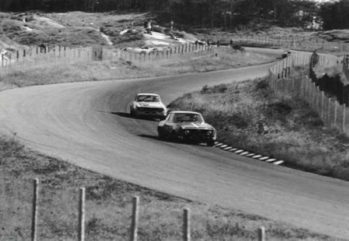 Zandvoort Circuit - Bos In Corner 1972
