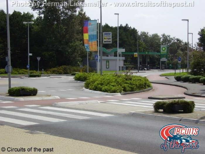 Zandvoort street circuit – Roundabout