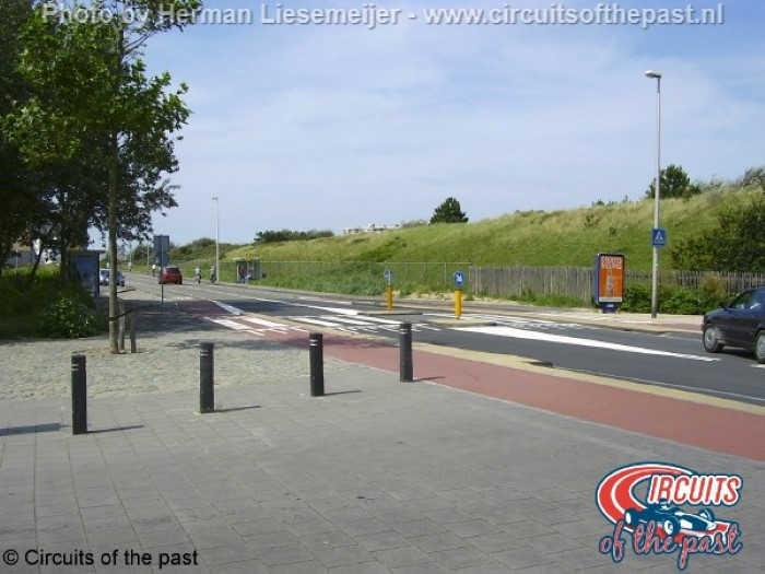 Zandvoort street circuit – Intersection Vondellaan/Van Lennepweg
