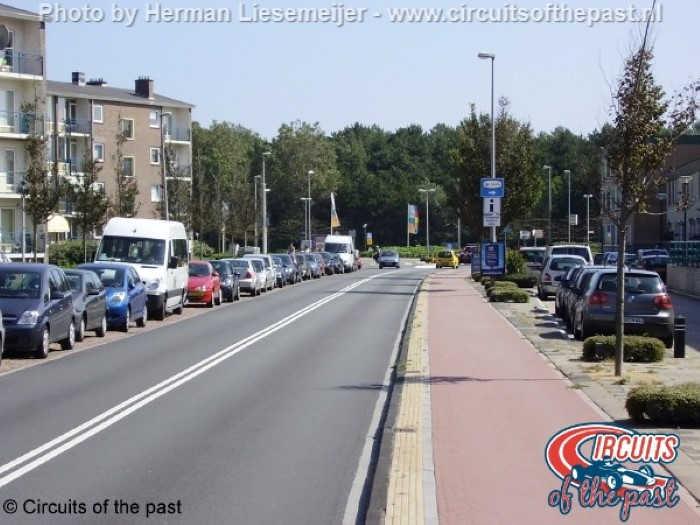 Zandvoort street circuit – Start/Finish van Lennepweg