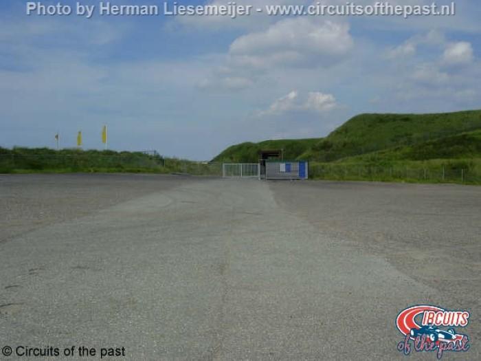Old Zandvoort circuit - Remain Bos Uit Corner