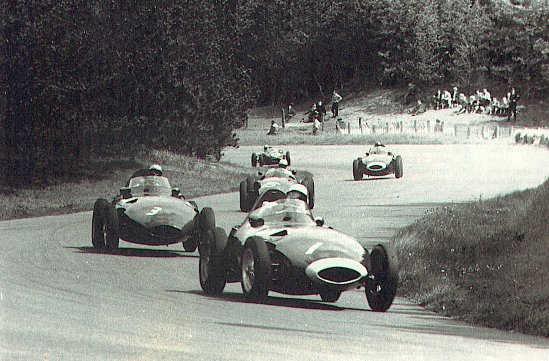 Zandvoort Circuit - Bos In Corner 1958