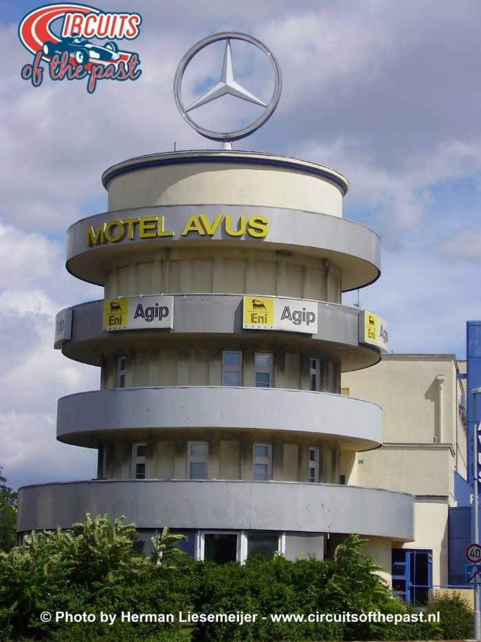AVUS Berlin old control tower