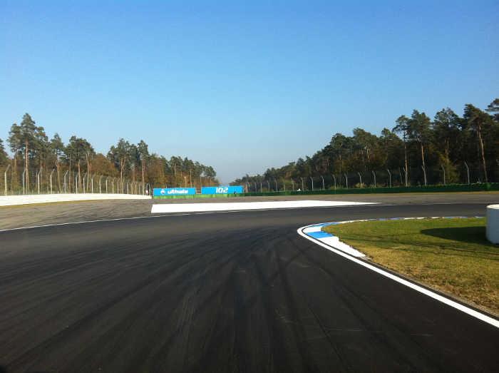 Hockenheim Circuit - Spitzkehre