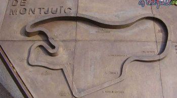 Montjuich Circuit Barcelona - Memorial