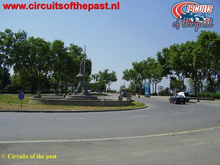 Montjuich Circuit Barcelona - Roundabout