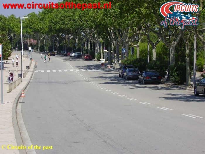 Montjuich Circuit Barcelona - Start/Finish F1 Spanish Grand Prix
