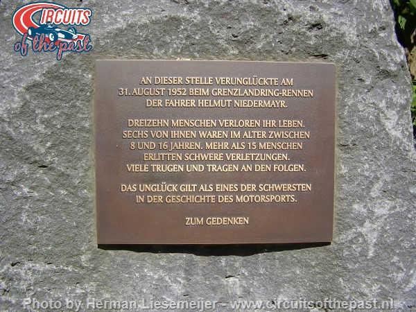 Grenzlandring - Memorial