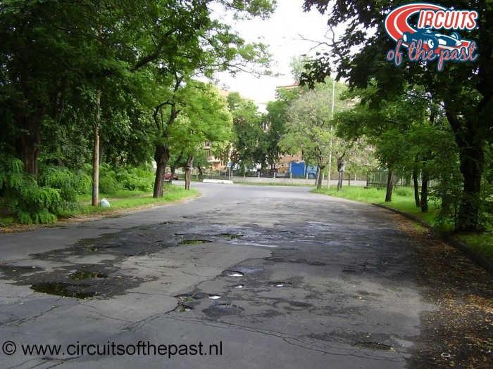 Népliget Budapest 1936 Hungarian Grand Prix Circuit