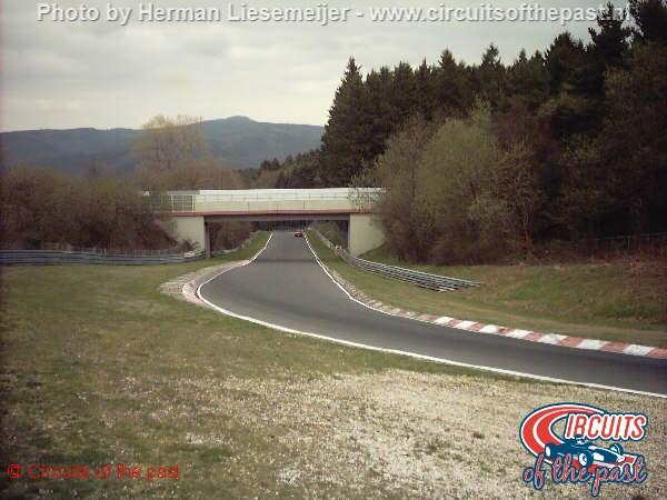 Nürburgring Nordschleife - Aremberg bridge