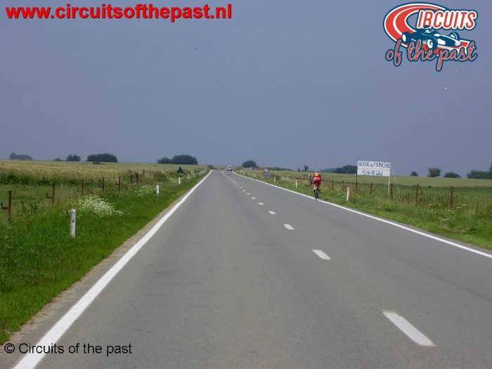 """Old Chimay Circuit - """"Ligne droite de Salles"""""""