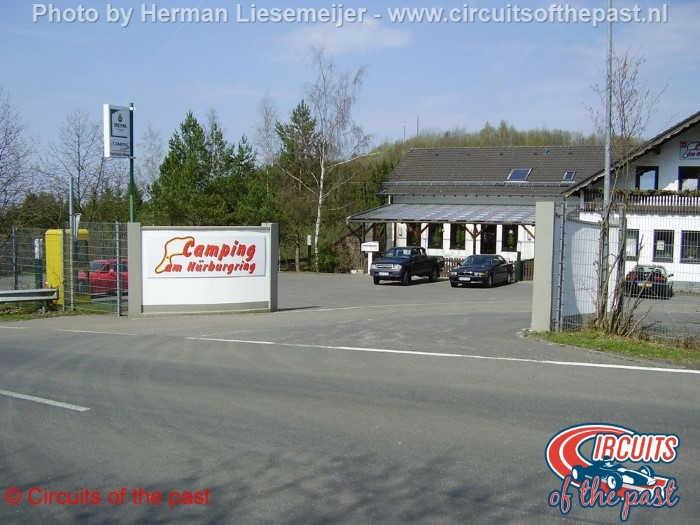 Nürburgring Südschleife - Comping am Nürburgring