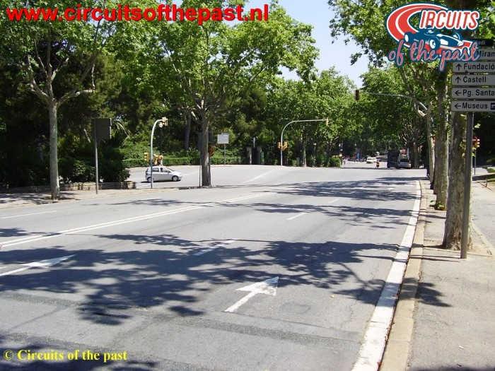 Montjuich Circuit Barcelona - El Angulo