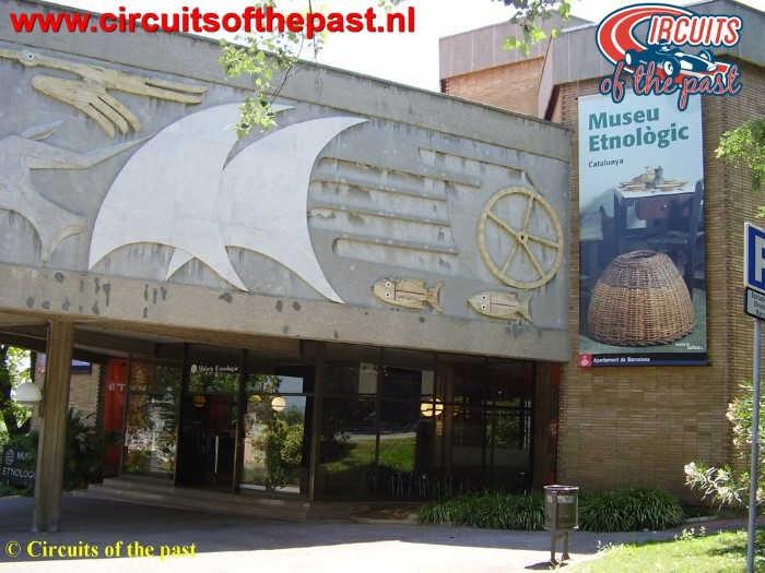 Montjuich Circuit Barcelona - Museo Etnològic