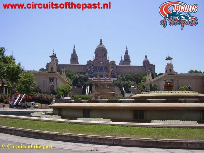 Montjuich Circuit Barcelona - Museu Nacional d'Art de Catalunya
