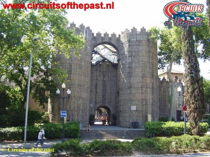 Montjuich Circuit Barcelona - Poble Espanyol