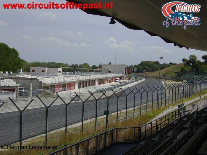 Imola Circuit - Senna Grandstand