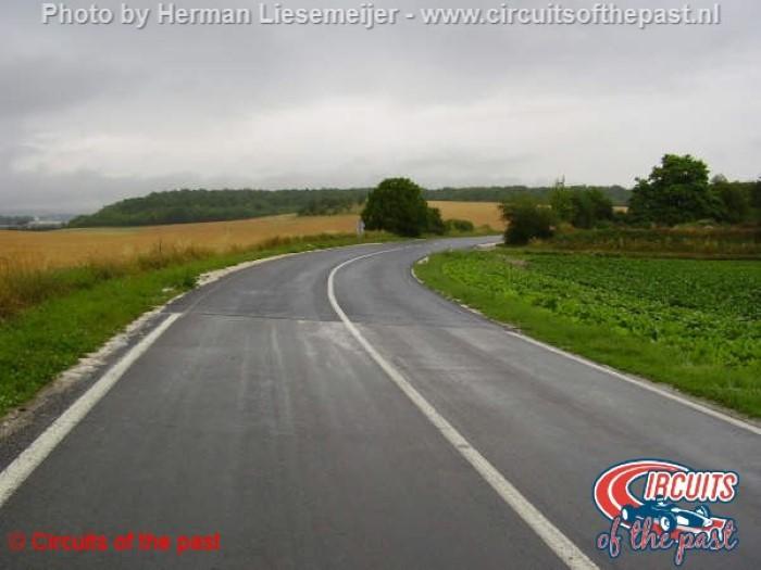 Reims Circuit - Fast corner