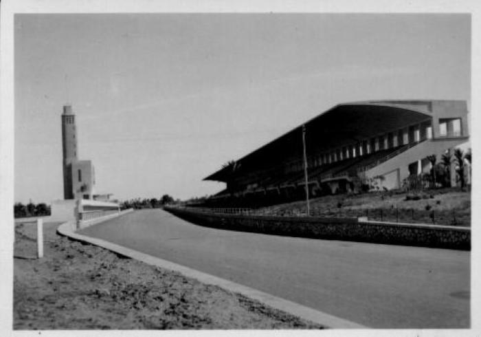 Tripoli Circuit - Grandstand