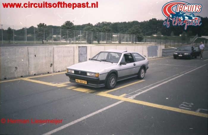 Norisring 1998 - My VW Scirocco on pole position