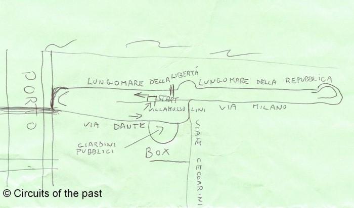 Riccione Circuit map