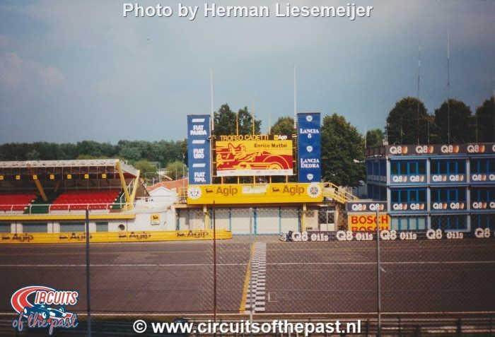 Autodromo Nazionale di Monza 1994 - Podium and Start/Finish line