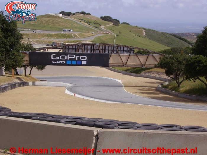 Laguna Seca Circuit - Exit Corkscrew Corner