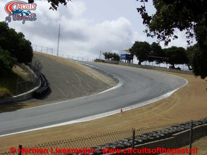 Laguna Seca Circuit - Corkscrew Corner