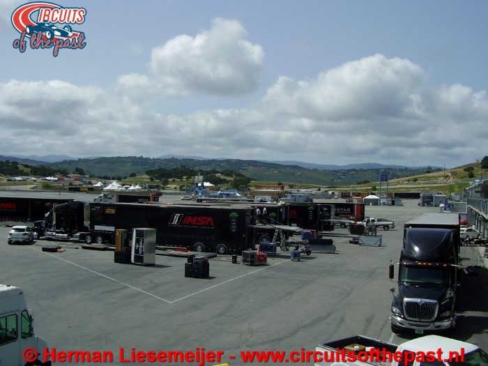 Laguna Seca Circuit - Paddock