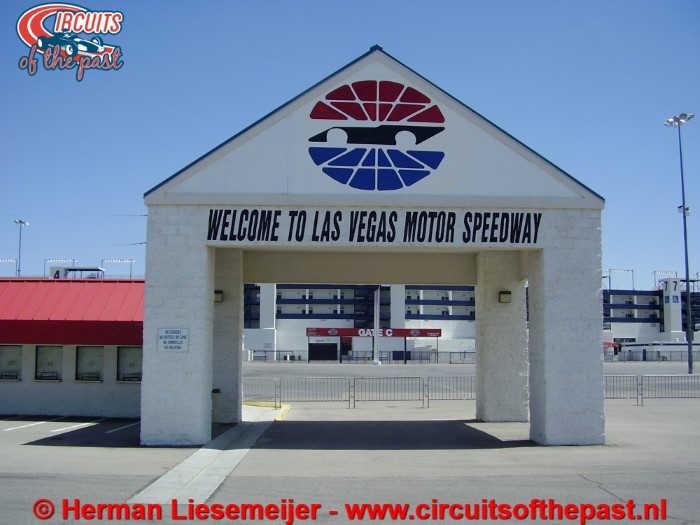 Las Vegas Motor Speedway Entrance