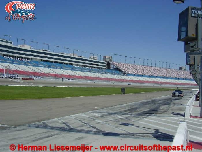 Las Vegas Motor Speedway Pit Lane